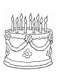 malvorlage torte kostenlose ausmalbilder zum ausdrucken