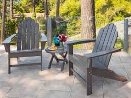 Polywood Rocking Chairs Amazon by Exterior Simple Polywood Adirondack Chairs In Modern Exterior