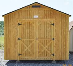 Metal Storage Shed Doors by Valley Utility Buildings Big Stone Gap Virginia Kentucky