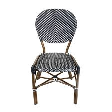 Aspen Brands Brown Aluminum Stackable Black And White Plastic Wicker ... Decor Market Siesta Wicker Side Chairs Black Finish Hk Living Rattan Ding Chair Black Petite Lily Interiors Safavieh Honey Chair Set Of 2 Fox6000a Europa Malaga Steel Ding Pack Of Monte Carlo For 4 Hampton Bay Mix And Match Stackable Outdoor In Home Decators Collection Genie Grey Kubu 2x Cooma Fnitureokay Artiss Pe Bah3927bkx2 Bloomingville Lena Gray Caline Breeze Finnish Design Shop Portside 5pc Chairs 48 Table