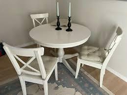 ikea esstisch mit stühlen rund