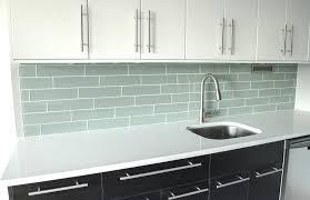 black and grey glass tile backsplash kitchen glass tile rend