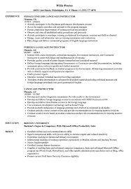 Language Instructor Resume Samples | Velvet Jobs Language Proficiency Resume How To Write A Great Data Science Dataquest Programmer Examples Template Guide Entrylevel And Writing Tips 2019 Beginners Novorsum Resume To Include Skills In Proposal Levels Of Beautiful Instructor Samples Velvet Jobs A Cv The Indicate European Cv Can I Add The Section Languages Photographer Cover Letter