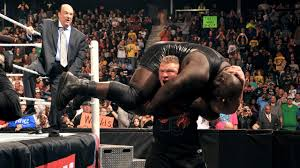 Wwe Famous Curtain Call by New Year U0027s Raw Results Lesnar Rings In A Painful New Year Bryan