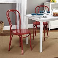 Dining Room Chairs Walmart by Vintage Inspired Cafe Chair Set Of 2 Multiple Colors Walmart Com