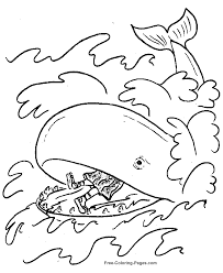 Printable Jonah Coloring Pages