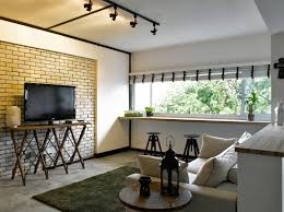 feature wall track lighting combination lack of grilles