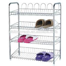 Rack Best Metal Shoe Rack Ideas Best Shoe Storage Metal Shoe