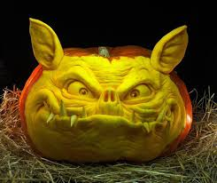 Clown Pumpkin Template by Halloween Pumpkin Carvings By Villafane Studios Scene360