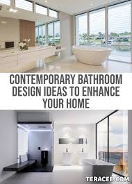 25 Contemporary Bathroom Design Ideas To Enhance Your Home — TERACEE 10 Small Bathroom Ideas On A Budget Victorian Plumbing Bathroom Modern Black Contemporary Wall Tiles Bath Design Lovely Rustic Images Showers Latest Designs New 42 Amazing Homewowdecor Bathrooms Hgtv Perth 45 Cool Remodel Karganhousecom Contemporary Bathrooms Modern Ideas