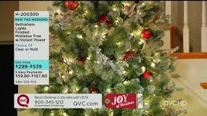 75 Flocked Christmas Tree by Qvc Christmas Tree Boise