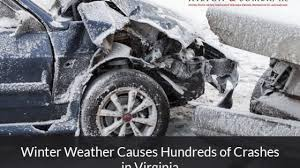 100 Baltimore Truck Accident Lawyer Winter Weather Causes Hundreds Of Crashes In Virginia