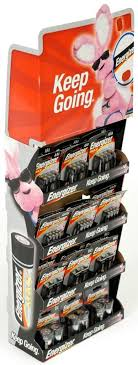 Endcap Display For Batteries