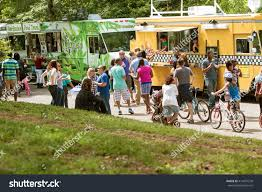100 Food Trucks In Atlanta ATLANTA GA APRIL 16 Large Crowd Stock Photo Edit Now 414437278