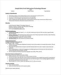 Entry Level Help Desk Technician Resume