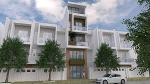 100 Narrow House Designs Design Plan 4 X 13 Meter SamphoasCom