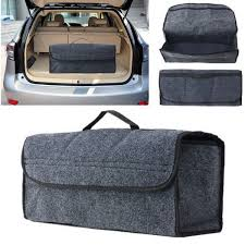 Car Trunk Seat Back Rear Storage Organizer Containers Holder Interior Bag Hanger Bins