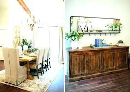 Fixer Upper Dining Rooms Awesome Wall Decor Room Kitchen Table Likeness With Art Diy Windmill