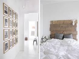 chambre bois blanc chambre blanche et bois d co scandinave gris blanc homewreckr co
