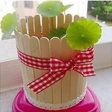 20 PCS Popsicle Stick Birch Wood Ice Cream Lolly Wooden Art Crafts DIY In Sticks From Home Garden On
