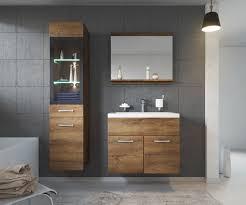 badmöbelsets badezimmer badmöbel set led 60 cm