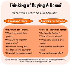 Photo Store First Time Home Buyers Classes Download