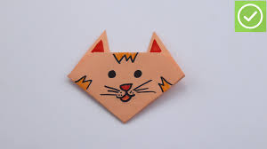 How To Make A Cat Out Of Paper 14 Steps With Pictures