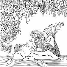 Amazon Zendoodle Coloring Presents Mermaids In Paradise An