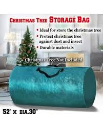 Large Artificial Christmas Tree Carry Storage Bag Holiday Clean Up 8 Green