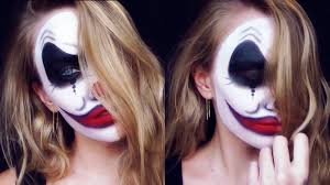Youtube Carli Bybel Halloween by Evil Clown Halloween Makeup Youtube Halloween Makeup