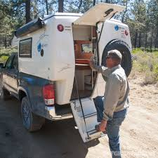 100 Truck Camper Steps Feature EarthCruiser GZL RECOIL OFFGRID
