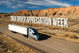 We Salute Truck Drivers - DriveSafe Online® Blog 2016 National Truck Driver Appreciation Week Recap Odyssey Celebrating Eagle Highway Heroes Its Shirt Southern Glazers Wine Spirits Recognizes Drivers During Archives Mile Markers Blogging The Road Ahead 18 Fun Facts You Didnt Know About Trucks Truckers And Trucking Freight Amsters Holland Professional Happy Youtube 2017 Drive For