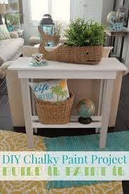 Americana Decor Chalky Finish Paint Colors by More Summer Decor And A Diy Paint Makeover