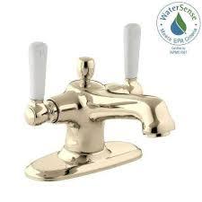 Home Depot Kohler Bancroft Pedestal Sink by Gold Bathroom Sink Faucets Bathroom Faucets The Home Depot