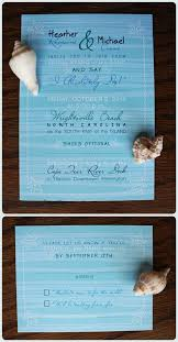 Wedding Invitation Ideas Lovely Blue Beach Invitations Wording Matched With Natural Sea Shells And