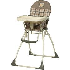 cosco flat fold high chair high gate walmart com