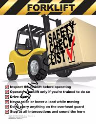 Forklift Safety Checklist Poster - Skilven Publications Forklift Safety Safetysolutionplt Safety Tips For Drivers And Pedestrians Sfm Mutual Insurance Avoiding Damage To Forks Tips Checklist Caddy Refill Pack Liftow Toyota Dealer Lift Whiteowl Tronics Sandia Rodeo Hlights Curacy August 6 2007 124v48v60v72v Blue Red Spot Work Working Light Fork Truck Encode Clipart To Base64 Creative Supply Diesel Motor Order Picking For Factory Workshops