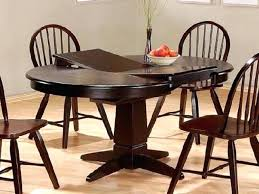 Round Dining Room Tables With Leaf Table Intended For Com Ideas