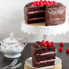Red Wine Chocolate Raspberry Cake Video} Happy Foods Tube