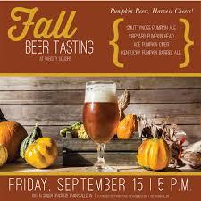 Smuttynose Pumpkin Ale 2017 by Fall Beer Tasting Cavalier Distributing