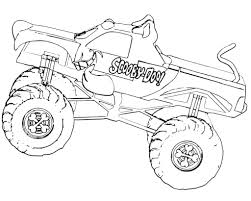 Monster Truck Grave Digger Coloring Pages At GetDrawings.com | Free ...