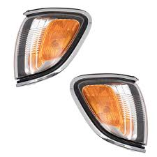 100 Truck Marker Lights 0104 Toyota Tacoma Pickup Set Of Corner Park Signal Chrome Trim