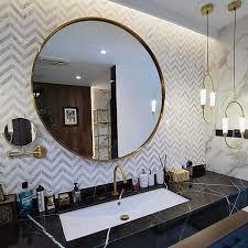chevron carrara weiß marmor mosaik fliese küchenrückwand wände und boden im bad