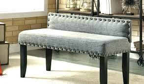 Dining Room Bench With Back Upholstered