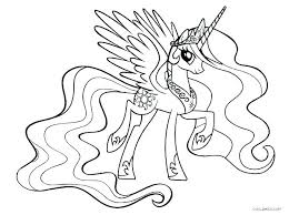 Princess Cadence Coloring Pages My Little Pony Sheets