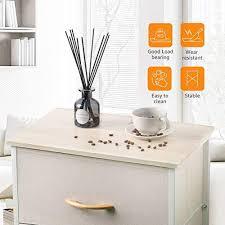 cosyland kommode schmal schrank mit 4 schubladen aus stoff aufbewahrungs turm stabiles ordnungsmöbel für schlafzimmer badezimmer wohnungseingang flur
