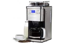 Filter Coffee Machine With Timer And Integrated Grinder