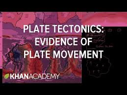 Sea Floor Spreading Animation Youtube by Plate Tectonics Evidence Of Plate Movement Video Khan Academy