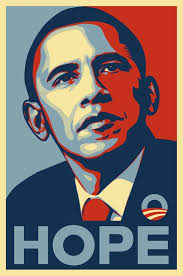 Obama Hope Famous Poster