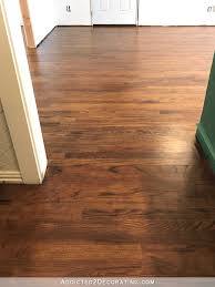 Removing Old Pet Stains From Wood Floors by My Newly Refinished Red Oak Hardwood Floors